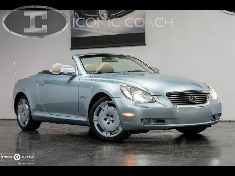 2004 Lexus SC 430 for sale at Iconic Coach in San Diego CA