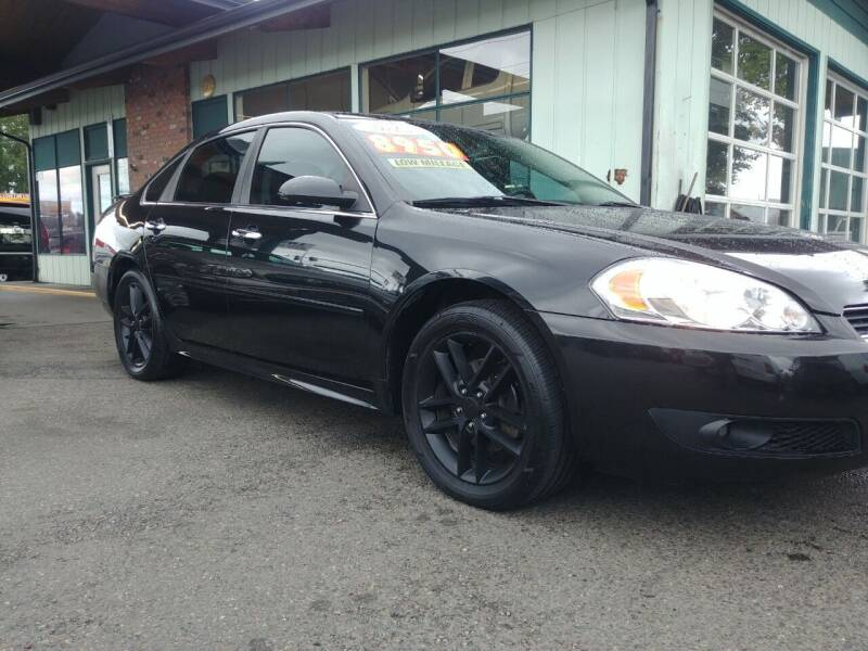 2012 Chevrolet Impala for sale at Low Auto Sales in Sedro Woolley WA