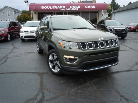 2018 Jeep Compass for sale at Boulevard Used Cars in Grand Haven MI