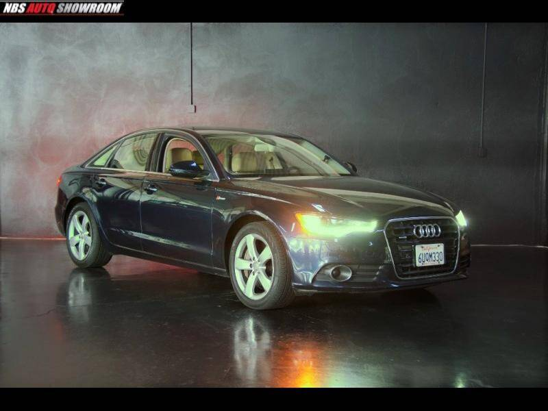 2012 Audi A6 for sale at Pro Auto Showroom in Milpitas CA