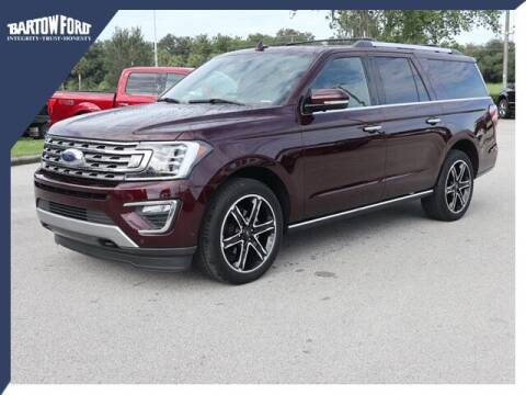 2020 Ford Expedition MAX for sale at BARTOW FORD CO. in Bartow FL