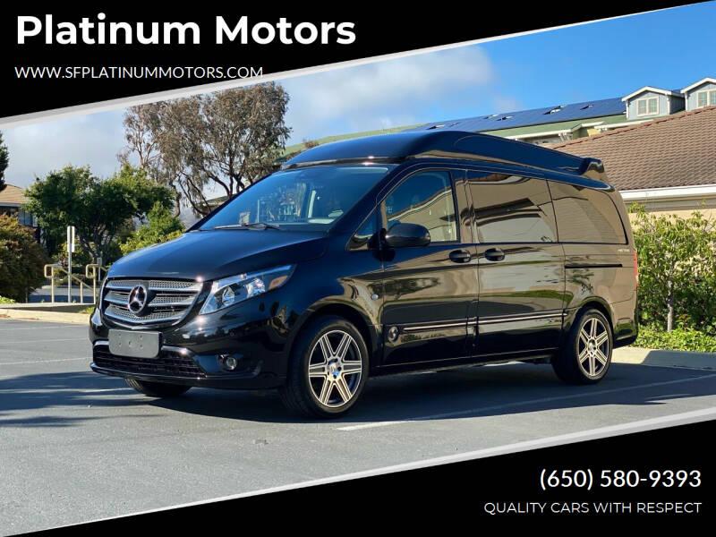 2020 Mercedes-Benz Metris for sale at Platinum Motors in San Bruno CA