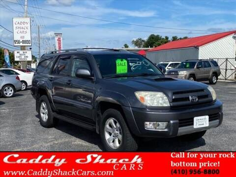 2003 Toyota 4Runner for sale at CADDY SHACK CARS in Edgewater MD