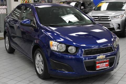 2014 Chevrolet Sonic for sale at Windy City Motors in Chicago IL