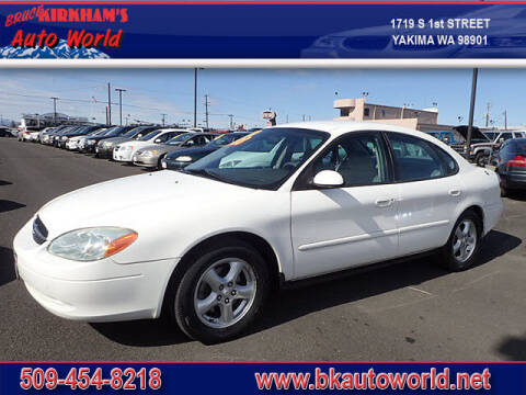 2003 Ford Taurus for sale at Bruce Kirkham Auto World in Yakima WA