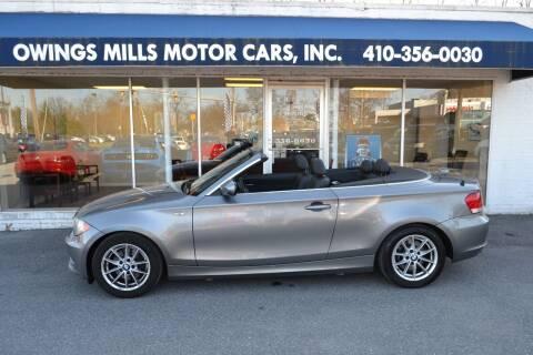 2011 BMW 1 Series for sale at Owings Mills Motor Cars in Owings Mills MD