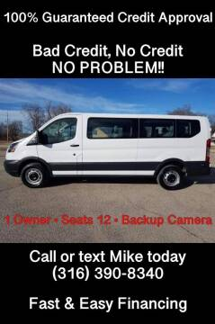 2018 Ford Transit Passenger for sale at Affordable Mobility Solutions, LLC - Standard Vehicles in Wichita KS