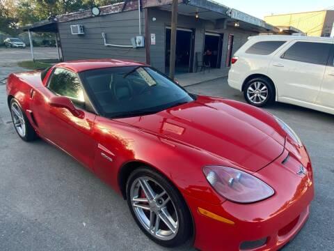 2006 Chevrolet Corvette for sale at Texas Luxury Auto in Houston TX
