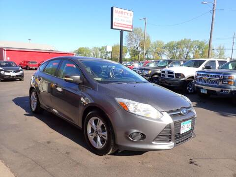 2013 Ford Focus for sale at Marty's Auto Sales in Savage MN
