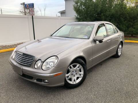 2003 Mercedes-Benz E-Class for sale at Giordano Auto Sales in Hasbrouck Heights NJ