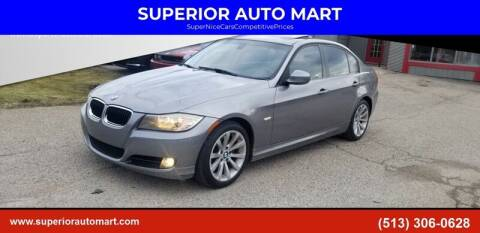 2011 BMW 3 Series for sale at SUPERIOR AUTO MART in Amelia OH