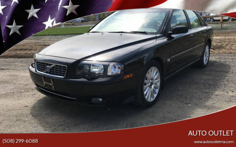 2004 Volvo S80 for sale at AUTO OUTLET in Taunton MA