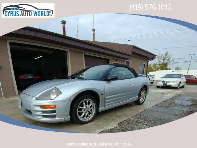 2002 Mitsubishi Eclipse Spyder for sale in Defiance, OH