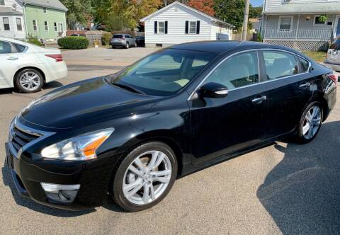 2014 Nissan Altima for sale at Ultra Auto Center in North Attleboro MA
