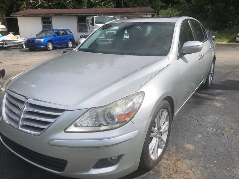 2009 Hyundai Genesis for sale at Monroe Auto's, LLC in Parsons TN