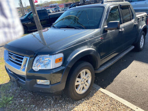 2010 Ford Explorer Sport Trac for sale at 222 Newbury Motors in Peabody MA