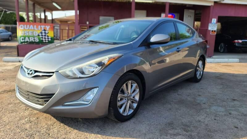 2014 Hyundai Elantra for sale at Fast Trac Auto Sales in Phoenix AZ