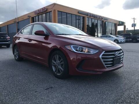 2018 Hyundai Elantra for sale at VA Cars Inc in Richmond VA