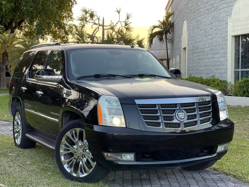 2007 Cadillac Escalade for sale at Citywide Auto Group LLC in Pompano Beach FL