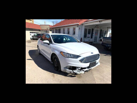 2017 Ford Fusion for sale at ELITE MOTOR CARS OF MIAMI in Miami FL
