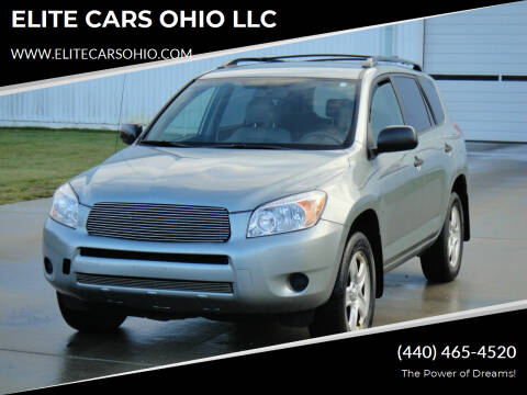 2007 Toyota RAV4 for sale at ELITE CARS OHIO LLC in Solon OH
