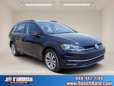 2018 Volkswagen Golf SportWagen for sale at Jeff D'Ambrosio Auto Group in Downingtown PA