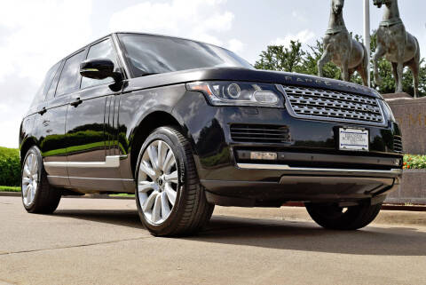 2013 Land Rover Range Rover for sale at European Motor Cars LTD in Fort Worth TX