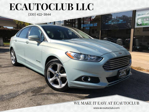 2013 Ford Fusion Hybrid for sale at ECAUTOCLUB LLC in Kent OH
