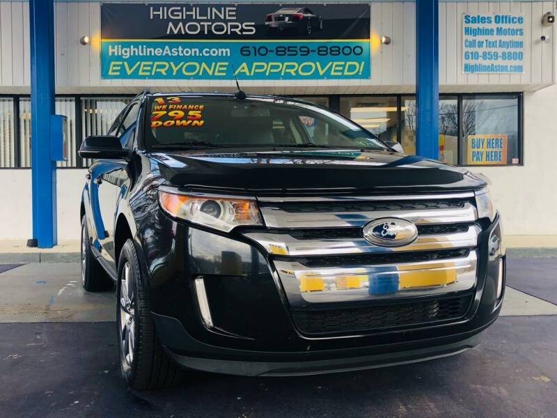 2013 Ford Edge for sale at Highline Motors in Aston PA