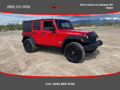 2012 Jeep Wrangler Unlimited for sale at Auto Solutions in Kalispell MT
