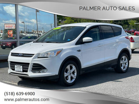 2015 Ford Escape for sale at Palmer Auto Sales in Menands NY