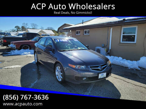 2008 Acura TSX for sale at ACP Auto Wholesalers in Berlin NJ
