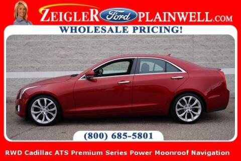 2014 Cadillac ATS for sale at Zeigler Ford of Plainwell- michael davis in Plainwell MI