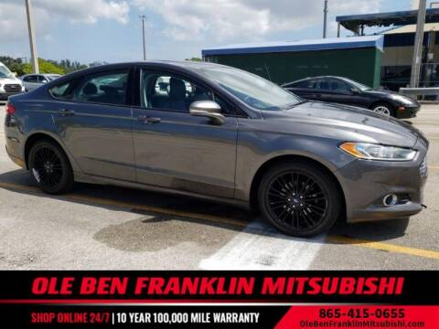 2015 Ford Fusion for sale at Ole Ben Franklin Mitsbishi in Oak Ridge TN