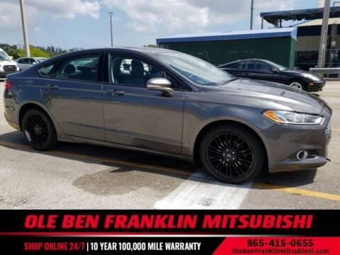 2015 Ford Fusion for sale at Ole Ben Franklin Mitsbishi in Oak Ridge TN