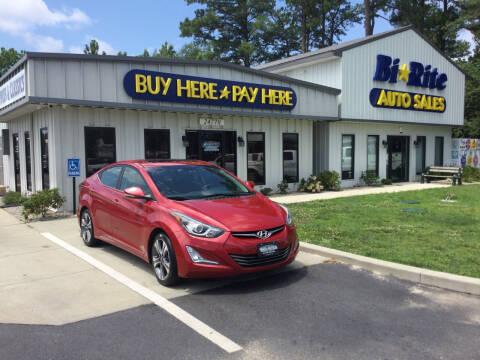 2015 Hyundai Elantra for sale at Bi Rite Auto Sales in Seaford DE
