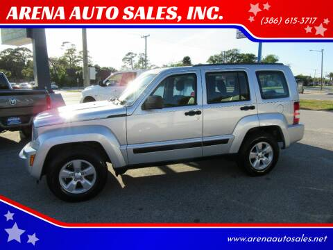 2012 Jeep Liberty for sale at ARENA AUTO SALES,  INC. in Holly Hill FL