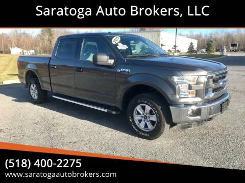 2015 Ford F-150 for sale at Saratoga Auto Brokers, LLC in Wilton NY