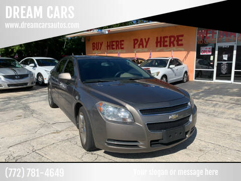 2011 Chevrolet Malibu for sale at DREAM CARS in Stuart FL