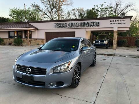 2011 Nissan Maxima for sale at Texas Auto Broker in Killeen TX
