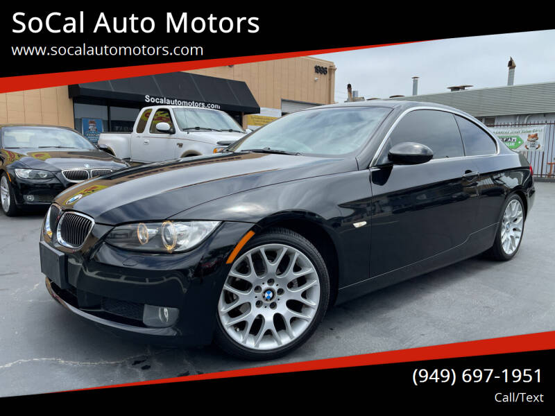 2007 BMW 3 Series for sale at SoCal Auto Motors in Costa Mesa CA