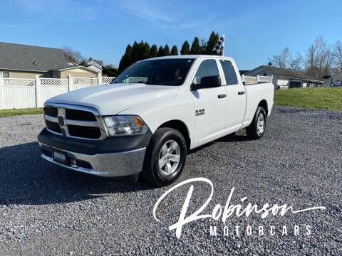 2013 RAM Ram Pickup 1500 for sale at Robinson Motorcars in Hedgesville WV