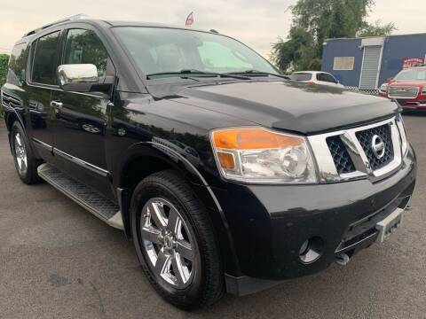 2012 Nissan Armada for sale at TD MOTOR LEASING LLC in Staten Island NY