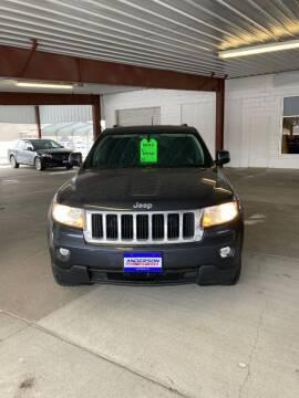 2013 Jeep Grand Cherokee for sale at Anderson Motors in Scottsbluff NE