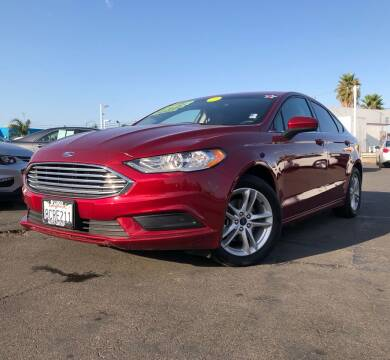 2018 Ford Fusion for sale at LUGO AUTO GROUP in Sacramento CA