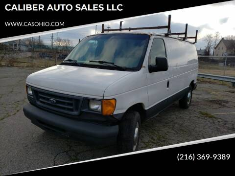 2006 Ford E-Series Cargo for sale at CALIBER AUTO SALES LLC in Cleveland OH