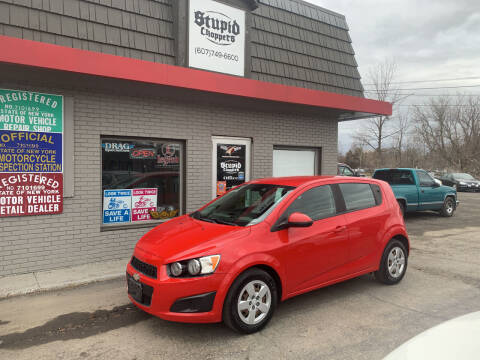 2013 Chevrolet Sonic for sale at Townline Motors in Cortland NY