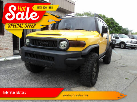 2007 Toyota FJ Cruiser for sale at Indy Star Motors in Indianapolis IN