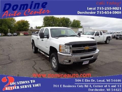 2012 Chevrolet Silverado 2500HD for sale at Domine Auto Center in Loyal WI