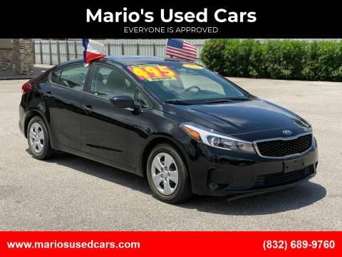 2018 Kia Forte for sale at Mario's Used Cars - Pasadena Location in Pasadena TX